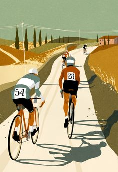 Interview with Illustrator Eliza SouthwoodYou can find Cycling art and more on our website.Interview with Illustrator Eliza Southwood Cycling Art, Road Cycling, Cycling Bikes, Road Bike, Cycling Quotes, Cycling Jerseys, Illustration Photo, Bicycle Illustration, Velo Vintage