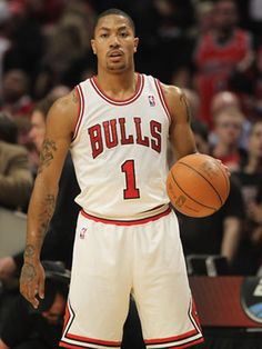 Derrick Rose, Chicago Bulls. Since he's been drafted, Derrick has led the Bulls to the playoffs every year. Hot.