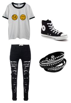 5SOS Mood <3 by whoiskkathyy on Polyvore featuring Chicnova Fashion and Converse
