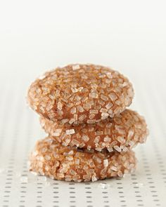 Lucinda's Molasses Drops by marthastewart #Christmas_Cookies #Molasses