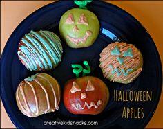 Creative Kid Snacks: Halloween Apples by Creative Kid Snacks, via Flickr