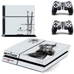 Skins PS4 - The Witcher 3 Wild Hunt + 2 free skins controllers
