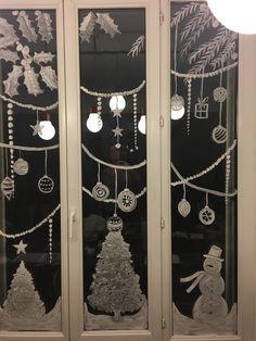 Dessiner sur une vitre à Noël | Ciloubidouille