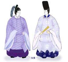 japan-AD794->1185貴族の装束・平安時代