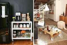 14 Inspiring Ideas for Styling Small Spaces via Brit + Co