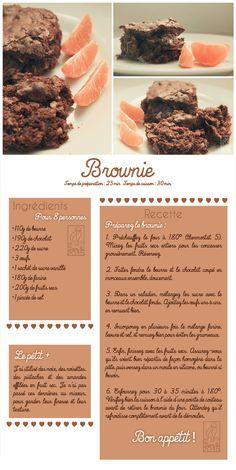 Les Gourmandises de Jelly: ♥ 054 • Brownie ♥