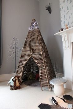 Willow Teepee – Kids Room Decor – Little Gatherer Blog | Small for Big