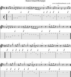 Staten Island Hornpipe Chords