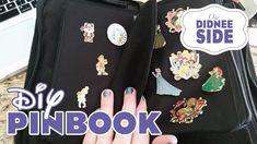 DIY Disney Pin Trading Book - Using Dollar Store Items