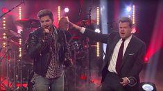 Adam's Sing-Off with James Corden : Adam Lambert