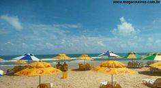 Praia do Morro Branco - Ceará - Brasil Uma delícia de lugar para relaxar!!! Foto e dica @naterradeiracema  www.megaroteiros.com.br   #Ceará #ceará #ce #morrobrancobeach