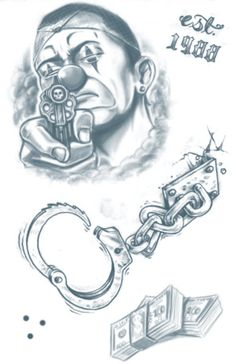 pattern tattoos meaning Boog Tattoo, Chicano Style Tattoo, Chicano Tattoos, Prison Drawings, Chicano Drawings, Gangster Drawings, Arte Cholo, Cholo Art, Tattoo Design Drawings