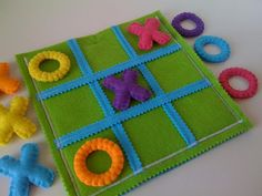 Items similar to Tic Tac Toe Game Set for blind children – Present for blind kids – Felt toy for blind kids on Etsy - Kinderbetreuung Games For Kids, Activities For Kids, Crafts For Kids, Visually Impaired Activities, Felt Crafts, Diy Crafts, Tic Tac Toe Game, Tic Toe, Diy Quiet Books