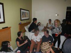 방에서도 즐거운 파티!!!