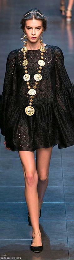 """Dolce & Gabbana Spring 2014"
