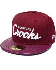 074e4d27a42 Crooks   Castles - Crooks League Fitted Cap Crooks And Castles