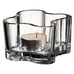 iittala Aalto Votive Candle Holder - Clear $18.00