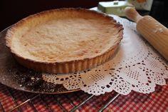 Pasta quebrada o masa brisa sin lactosa (lactose-free shortcrust pastry)