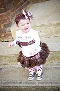 Holiday or Specail Occasion Pettiskirt set includes by wecreationz, $42.00