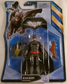 Batman Dark Knight Rises Ultra Blast DC Comics Mattel Action Figure Collectible - FUNsational Finds