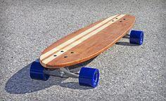 "Skinner Custom Longboards - Cali Street Surfer 39"" www.skinnercustomlongboards.com"