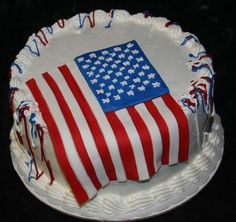 american independence day cake 9 Yummy 4th July Cakes Design and Ideas