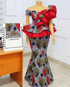 Latest African Fashion Dresses, African Dresses For Women, African Attire, Cord Lace Styles, Lace Gown Styles, African Print Shirt, African Print Dress Designs, African Fashion Traditional, African Lace Styles