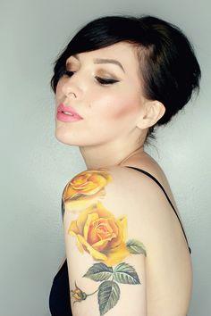 New Tattoo By Amanda Wachob (In Progress) (keiko lynn)
