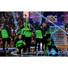Elektrolytes celebrates after being named America's Best Dance Crew. ❤ liked on Polyvore