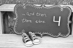 Kindra's Photography: Baby Announcement, Baby Shoes, Maternity, then there were four,