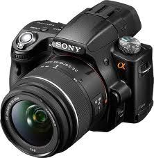 Sony a55 DSLR Camera and Lens