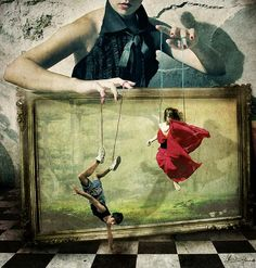 Artist : Chiara Fersini  http://www.foundshit.com/puppet-dance-manipulation/