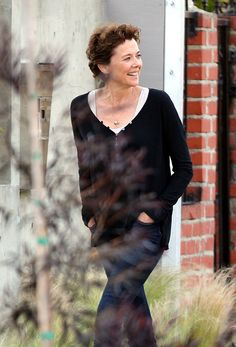 Annette Bening and Ed Harris Film 'The Look of Love' she just keeps getting better want to be just like her