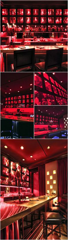 Scarlet Bar at The Palms Casino Las Vegas, Restaurant Design, Hospitality, Interior Design by Bar Napkin Productions #BarNapkinProductions