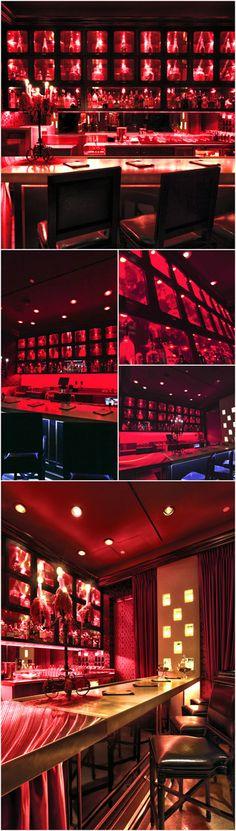 Scarlet Bar at The Palms Casino Las Vegas, Restaurant Design, Hospitality, Interior Design by Bar Napkin Productions #BarNapkinProductions