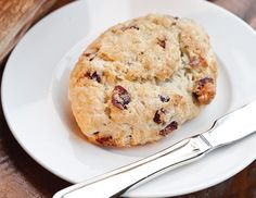 These delectable Cranberry-Orange Scones are refreshing autumn treat.