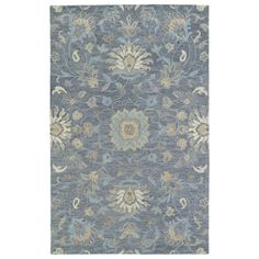 Christopher Kashan Graphite Hand-Tufted Rug (8'0 x 10'0) | Overstock.com Shopping - The Best Deals on 7x9 - 10x14 Rugs