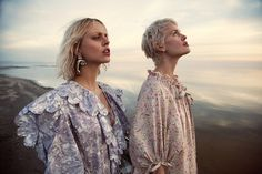 The July 2017 issue of Myself Germany focuses on dreamy summer looks with this editorial. Titled 'Modern Romance', the fashion shoot heads to California's Bombay Beach in images captured by Daniella Midenge. Made with creative direction and styled by Theresa Pichler, models Taylor Bagley and Laura Mayerhofer wear prairie dresses and embroidered gowns. The models …