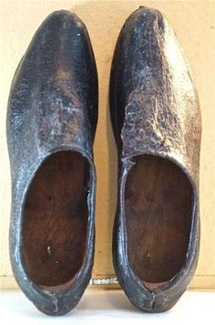 1800s wooden shoes - Google Search