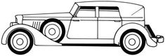 Classic Car Image Gallery With its curvy lines and smooth styling, this car is the height of class. Learn how to draw this classic car -- in just five steps -- in this article. See more pictures of classic cars. Car Drawing Pencil, Line Drawing, Adult Coloring Pages, Coloring Books, Colouring, Vintage Cars, Antique Cars, Custom Wheels, Car Drawings