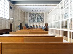 Luca Sironi captures the dichotomy of justice in Italian courtrooms - The Spaces