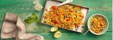 Orientalisch frisch schmeckt dieser schnelle Couscous-Salat mit Gurke, Tomaten, Petersilie und frischer Minze. Er eignet sich als Beilage zum Grillen oder als Hauptspeise. Außerdem ist er das perfekte Lunch zum fürs Büro und am Abend in 20 Minuten zubereitet. Entdecken Sie jetzt das leckere REWE Rezept.