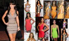 Celebrity style bandage dresses - www.myannika.com