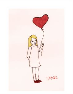 Stellanie's~ One of my own doodles for Valentine's Day  #365drawings