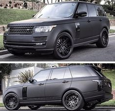 2015 Range Rover Matt Black