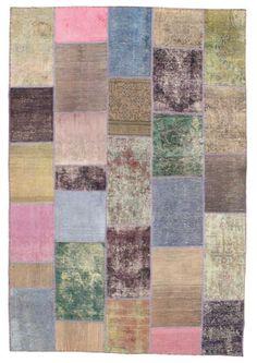 Tapis patchwork anis  Arteslonga Vintage Rugs  Pinterest  Patchwork ...