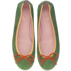 Pretty Ballerinas verdinha não tão básica! Amamos ;-) #prettyballerinas #prettyballerinasbrasil