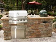 awesome outdoor kitchens - Google Search