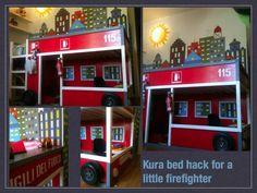 Ikea hack - Kura firefighter bed - image only