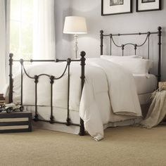 Weston Home Ryde Twin-Size Metal Bed, Multiple Finishes, Bronze Rustic Bedroom Design, Bedroom Decor, Master Bedroom, Bedroom Ideas, Farm Bedroom, Teen Bedroom, Bedroom Inspo, Bedroom Designs, Modern Bedroom